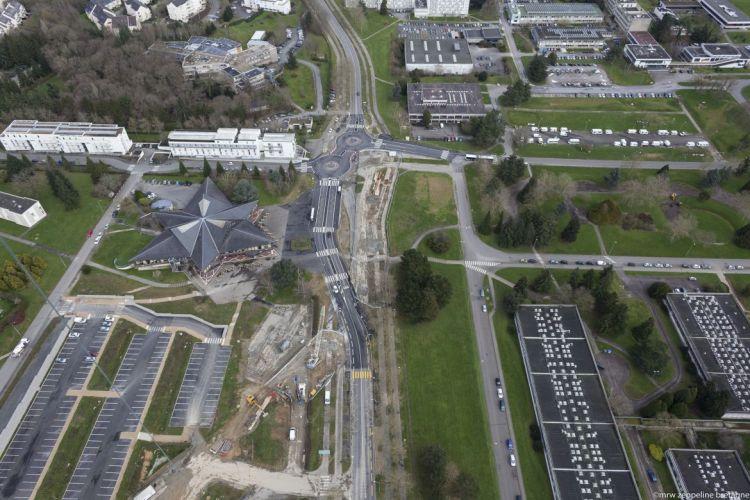 Station Beaulieu-Université - © Mrw Zeppeline Bretagne
