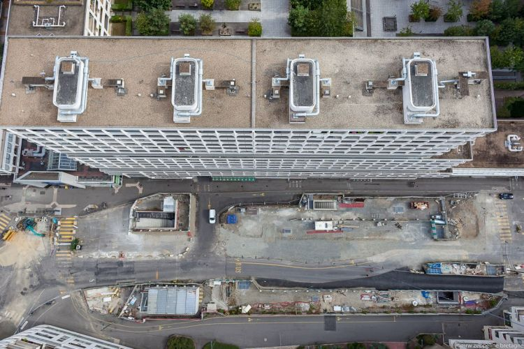 Station Colombier - © Mrw Zeppeline Bretagne