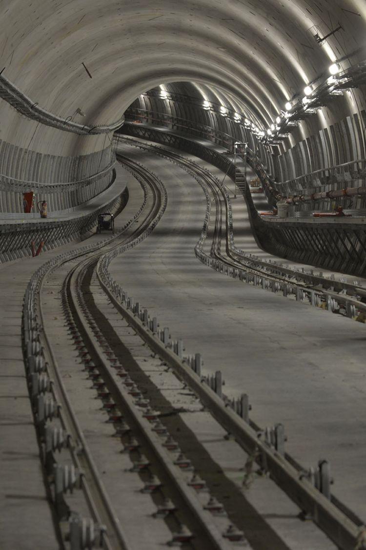 Tunnel entre les stations Saintes-Anne et Saint-Germain - Jean-Louis Aubert  - <small>21/11/2019</small>