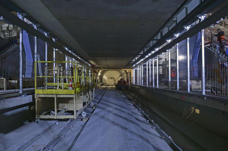 Tunnel entre les stations Gros-Chêne et les Gayeulles - Jean-Louis Aubert  - <small>22/11/2019</small>