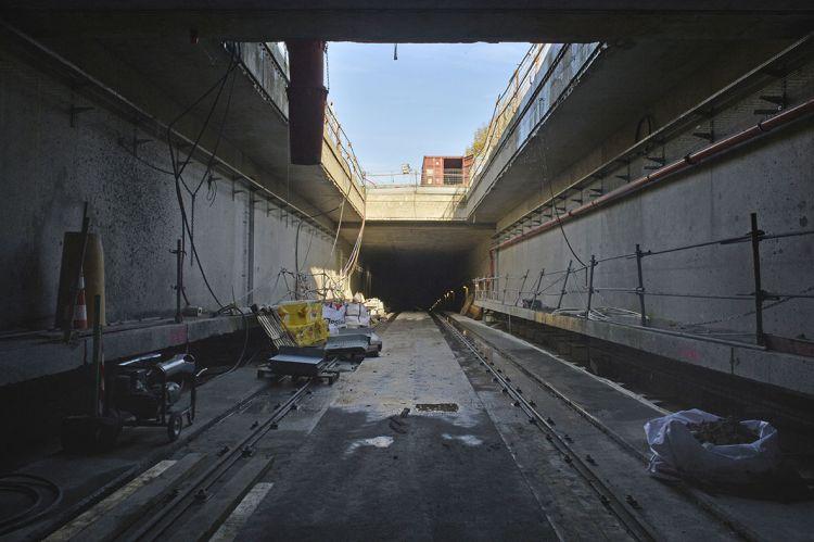 Tunnel entre les stations Les Gayeulles et Joliot-Curie - Chatea - Jean-Louis Aubert  - <small>22/11/2019</small>