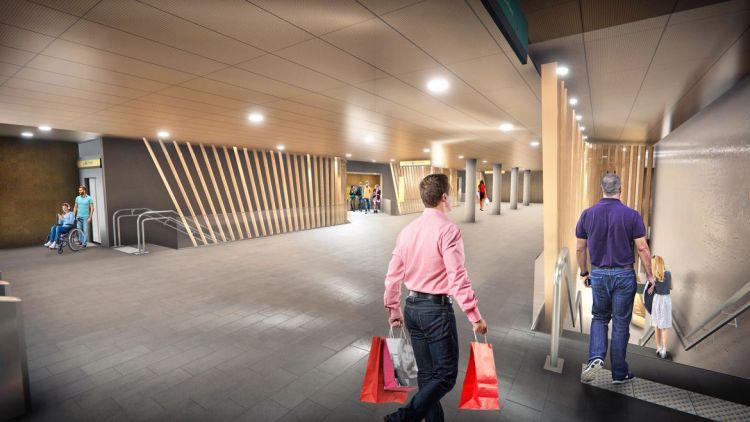 Station Saint-Jacques - Gaîté - Visite virtuelle 3D