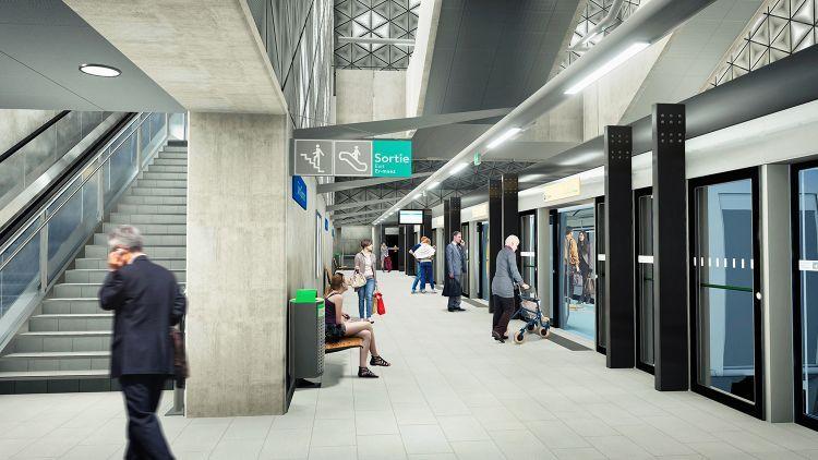 Station Saint-Germain - Visite virtuelle 3D