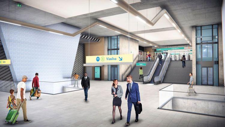 Station Gros-Chêne - Visite virtuelle 3D
