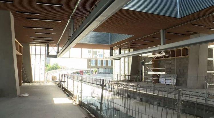 Station Atalante - Juin 2019 - Poursuite du second oeuvre
