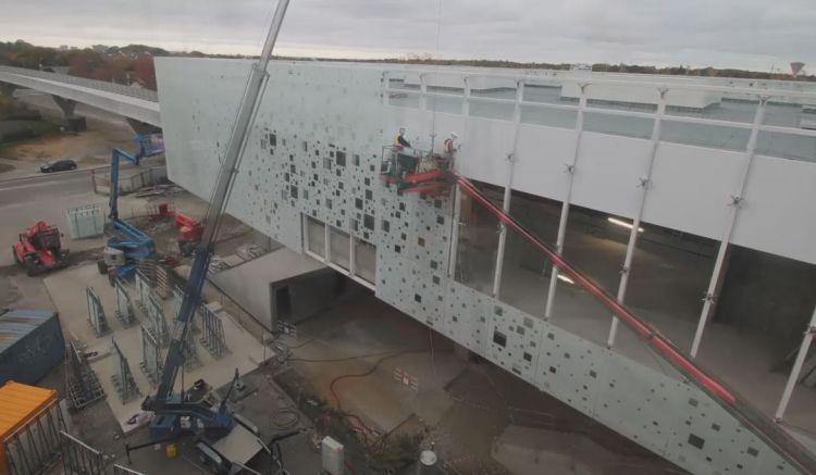Station Atalante - Octobre 2019 - Timelapse de la construction
