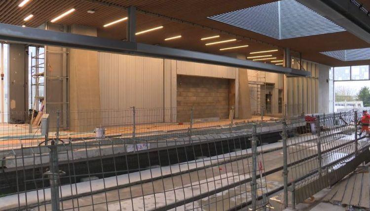 Station Atalante - Décembre 2019 - Poursuite du second oeuvre