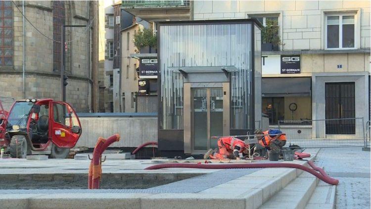 Station Saint Germain - Octobre 2020 - Aménagements extérieurs et intérieurs