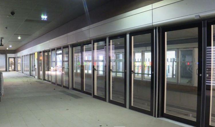 Station Joliot-Curie - Chateaubriand - Mars 2021 - Dernières finitions