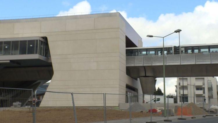 Station Beaulieu-Université - Mars  2021 - Aménagements extérieurs